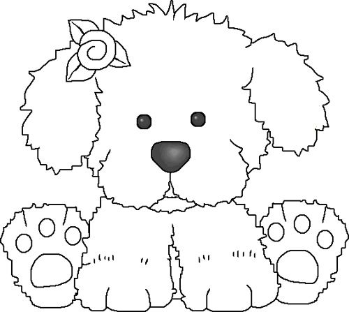 Easy Dog Coloring Pages Dog Breeders Guide