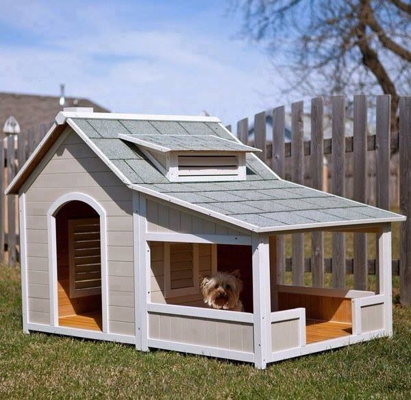 looks like a small house diy dog houses ideas