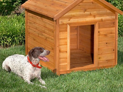 wooden diy dog houses ideas